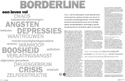 Art. Borderline, een leven vol